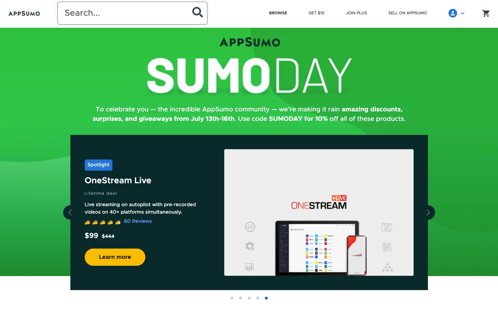 AppSumo Day Sale