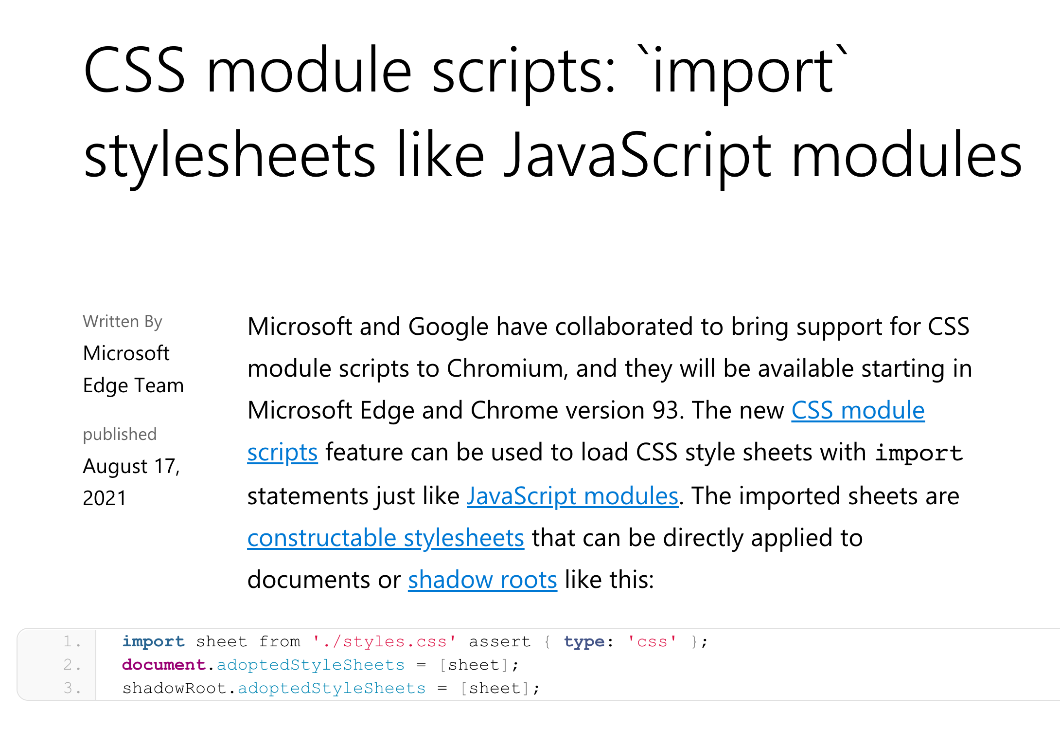 Coming Soon: CSS Imports in JavaScript image