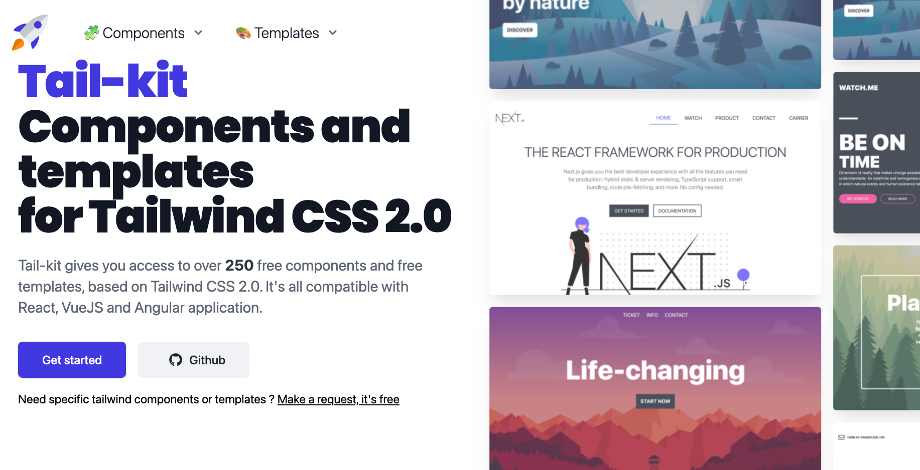 Tailwind Kit - UI Components for Tailwind CSS