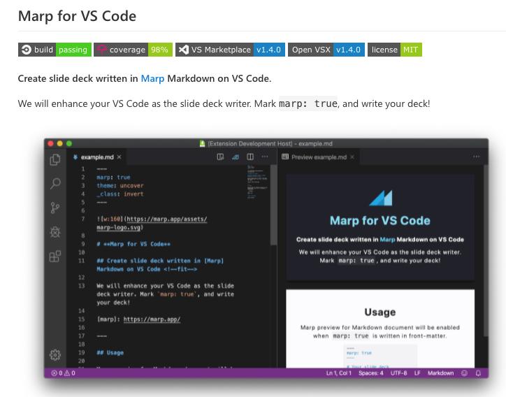 MARP for VSCode