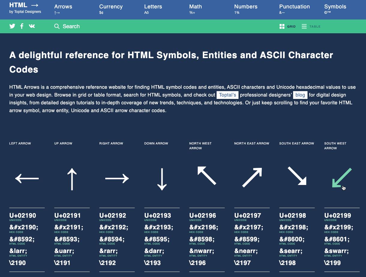 HTML Entity Finder image