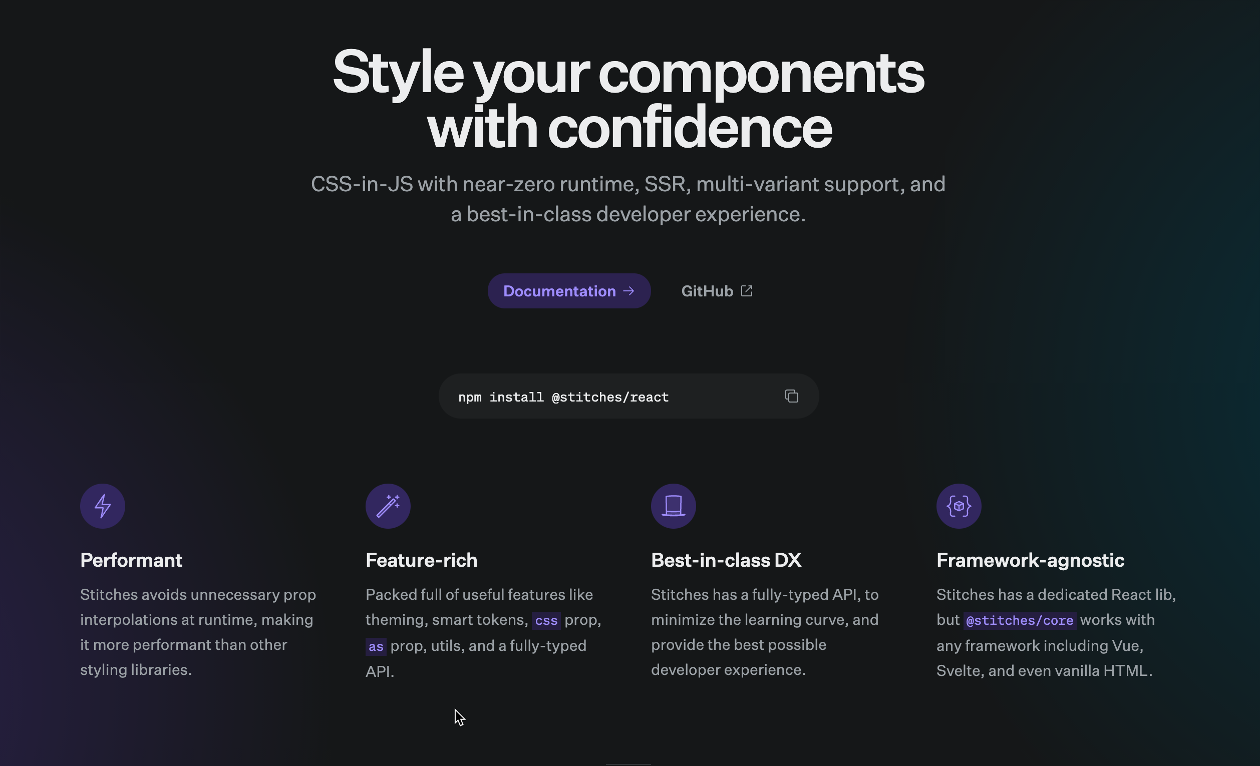 Styled Components with Stiches image